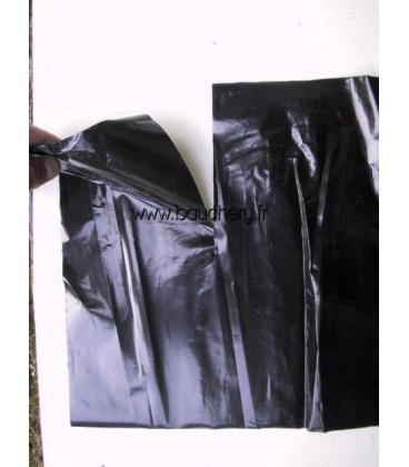 Collerettes en plastique noir