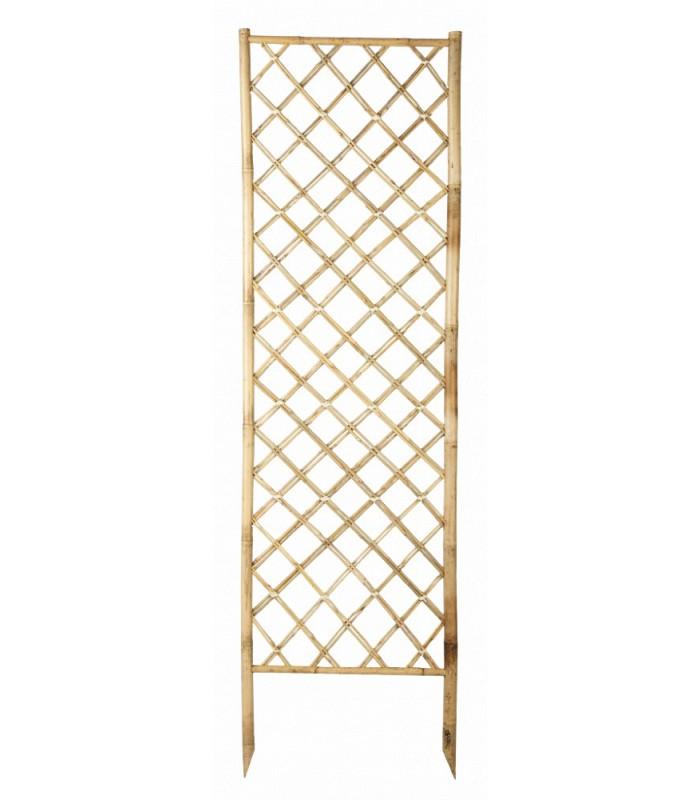 Treillis bamboo panel for Treillage bois pour plantes grimpantes