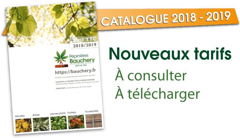 Catalogue pépinières Bauchery 2017/2018