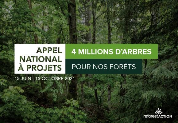Reforest'action : Appel à projets